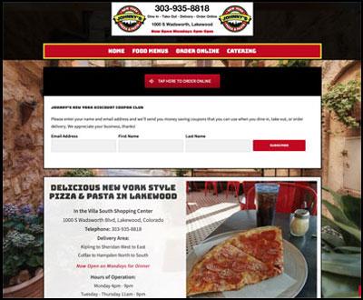 Johnny's NY Pizza